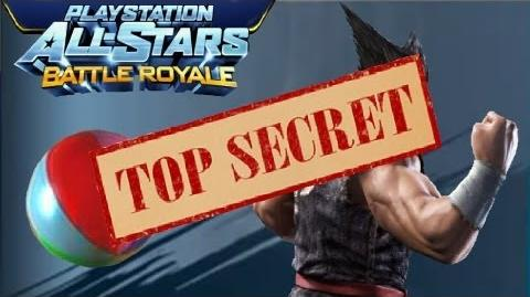 Playstation All Stars Battle Royale Top Secret! Heihachi Volleyball! (Commentary) (PS3)