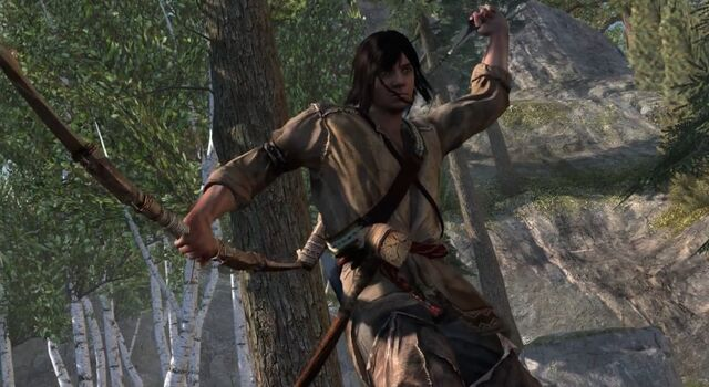 File:Assassins-Creed-3-Young-Connor-Bow-Arrow.jpg