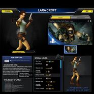 Fake lara croft psasbr