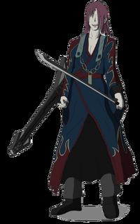 Azuma genkaku from deadman wonderland by thepakmonster-d5s9eud