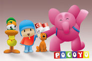 Pocoyo Illustration by MohdSaad
