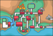 Route 33 Johto Map