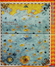 Orange Islands map