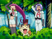 Team Rocket Wobbuffet pose