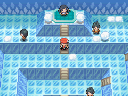 Pokemon Diamond - Snowpoint Gym