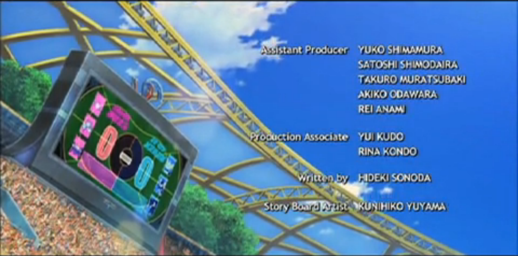 Baccer scoreboard credits