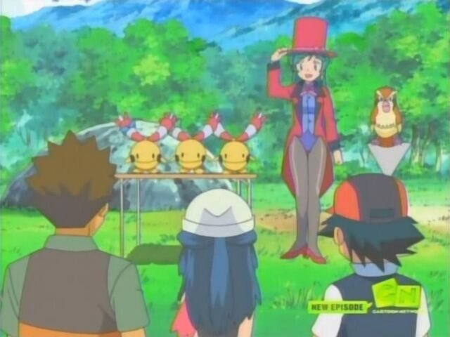 File:Francesca gets an applause from Ash and his friends.jpg