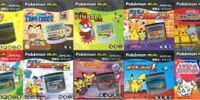 Pokémon Mini Cartridges (Japan)