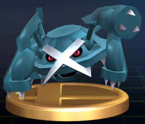 File:Metagross trophy SSBB.png