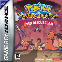 Pokemon Mystery Dungeon Red Rescue Team (Box Art)
