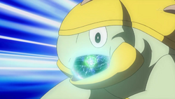 Ash Grotle Swallowing Energy Ball