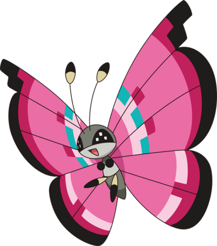 File:666Vivillon-Meadow XY anime.png