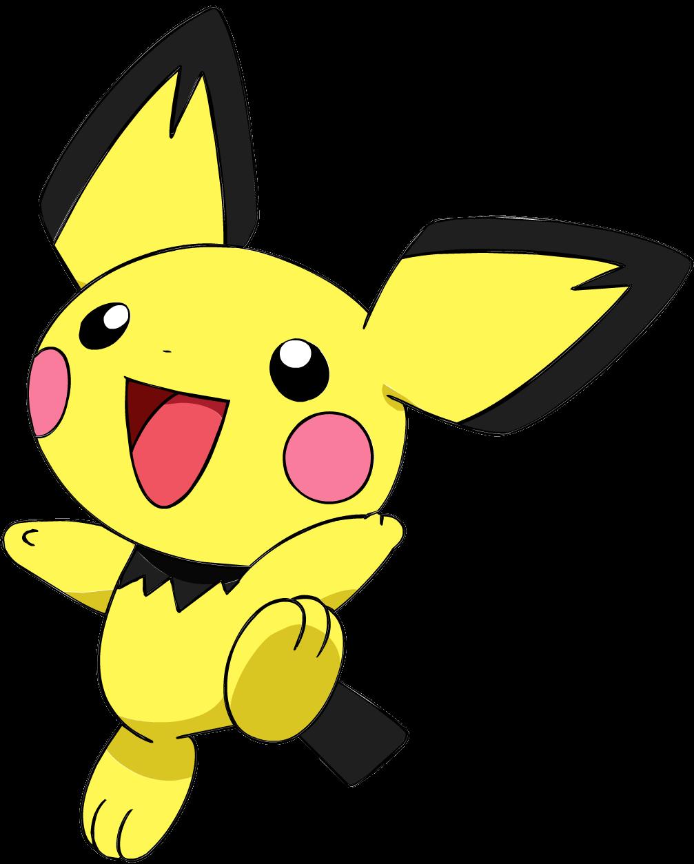 Image 172pichu Os Anime 3 Png Pok 233 Mon Wiki Fandom