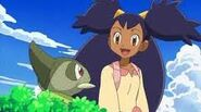 Iris and Axew(anime)