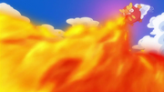 Darumaka Flamethrower