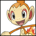 Generation IV Button - Chimchar.png