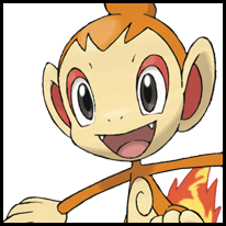 File:Generation IV Button - Chimchar.png
