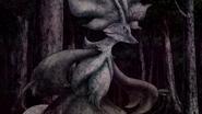 Delphox turning into stone
