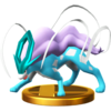 Suicune trophy SSBWU