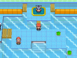Pokemon Diamond - Pastoria Gym