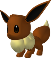 133Eevee Pokedex 3D