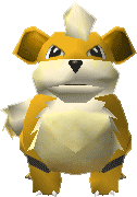 058Growlithe Pokemon Stadium