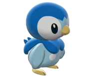 393Piplup Pokemon Battle Revolution
