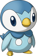 393Piplup Pokemon Ranger Shadows of Almia