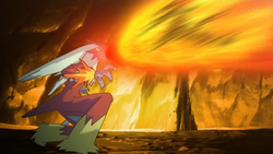 Gurkinn Blaziken Flamethrower