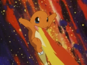 Ash Charmander Flamethrower