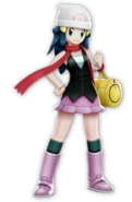 Dawn from Pokemon Battle Revolution