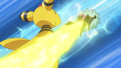 Ellie Ampharos Thunder Punch