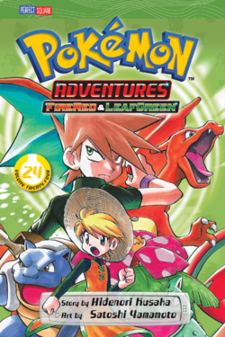 Viz Media Adventures volume 24