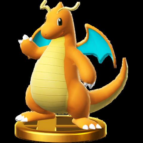File:Dragonite trophy SSBWU.png