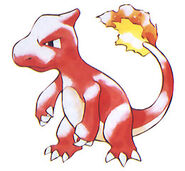 Charmeleon - Pokemon Red and Green