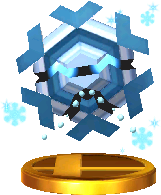 File:Cryogonal trophy SSB3DS.png