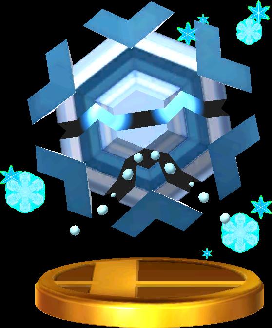 File:Cryogonal trophy SSB3DS.png