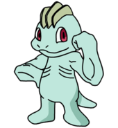 066Machop OS anime
