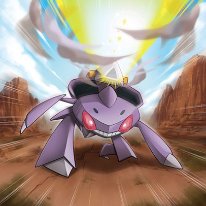 File:Genesect promotional art.jpg