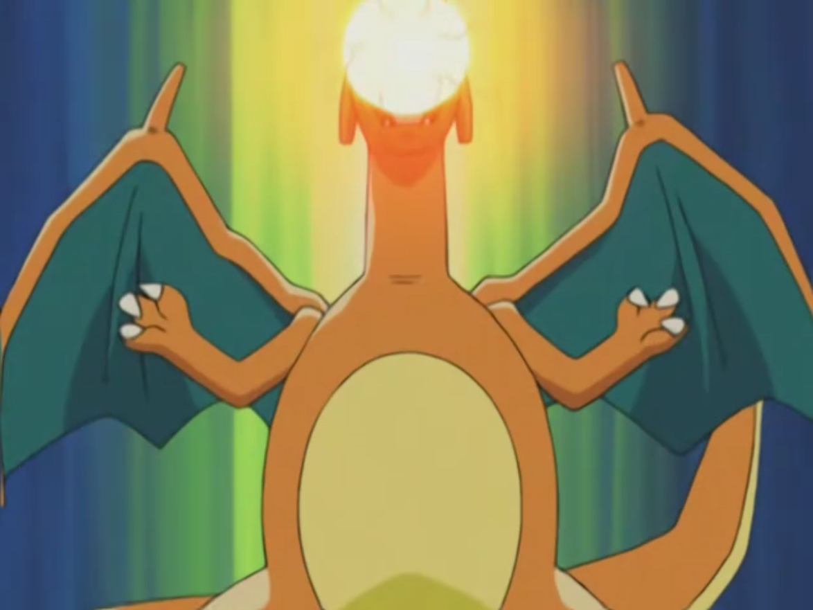 ash and charizard meet again