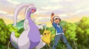Ash and Goodra