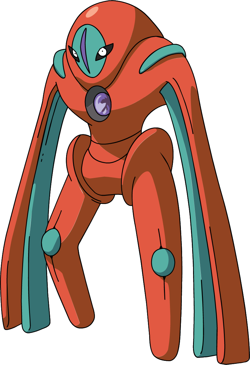 Pokemon diamond coloring pages - Image 386deoxys Defense Forme Anime Png Pok 233 Mon Wiki Fandom