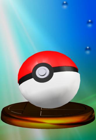 File:Poké Ball trophy SSBM.png