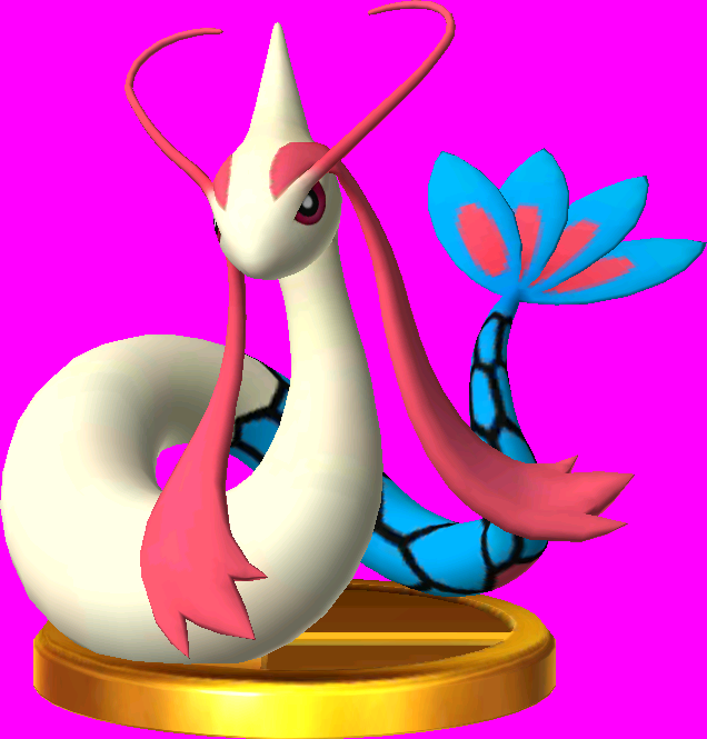 Milotic trophy SSB3DS