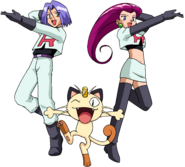 Team Rocket trio OS