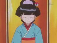 Koume in her Kimono
