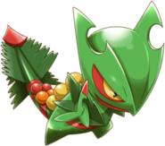 254Mega Sceptile Pokemon Rumble World