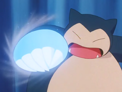 Ash Snorlax Ice Punch