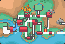 Johto Route 46 Map