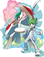 Wally's Mega Gallade